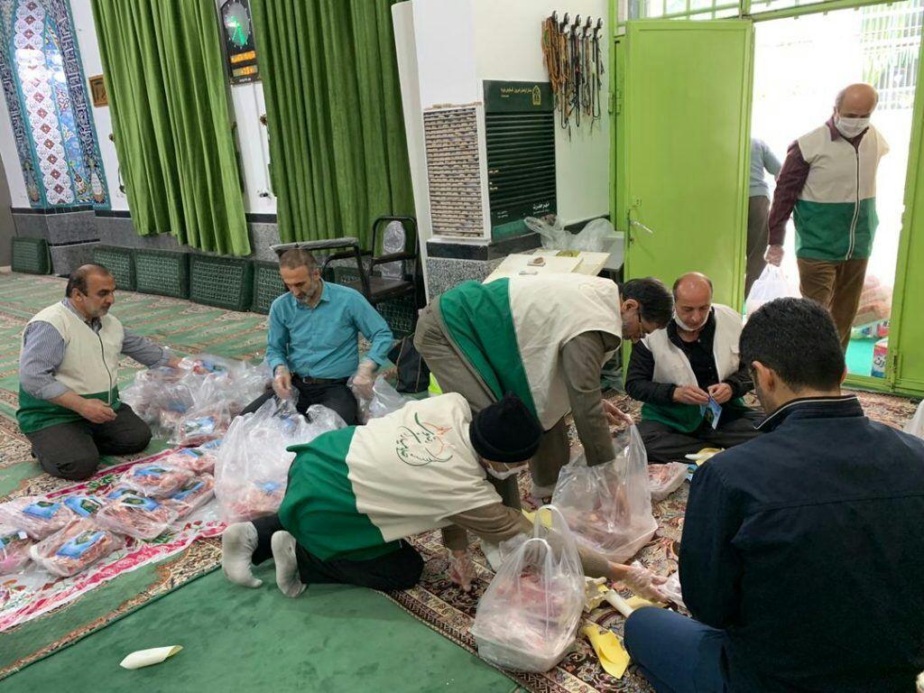 ۸۸ راس گوسفند قربانی توسط استان قدس رضوی کرمانشاه ذبح میشود