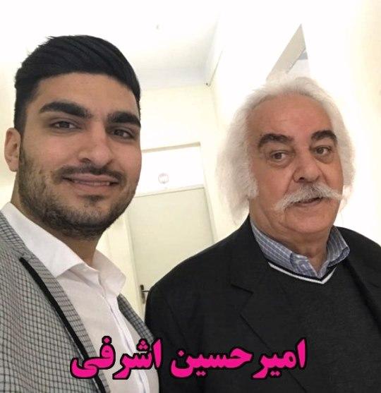 امیرحسین اشرفی هنرپیشه ها