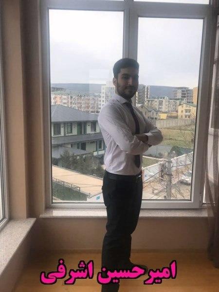 امیرحسین اشرفی گرجستان تفلیس