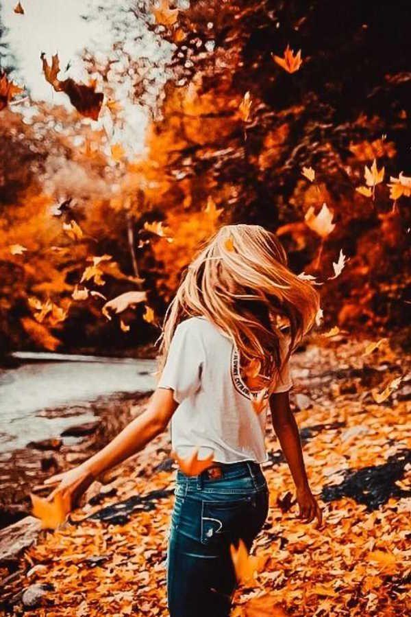 دخترانه پاییزی