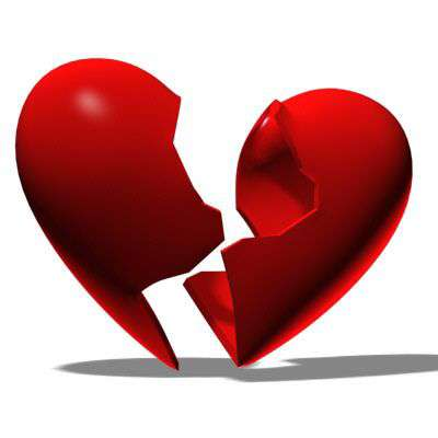 عکس قلب شکسته واقعی انسان