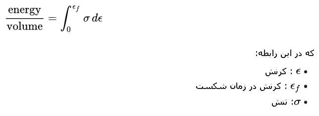 {\displaystyle {\frac {\mbox{energy}}{\mbox{volume}}}=\int _{0}^{\epsilon _{f}}\sigma \,d\epsilon }
