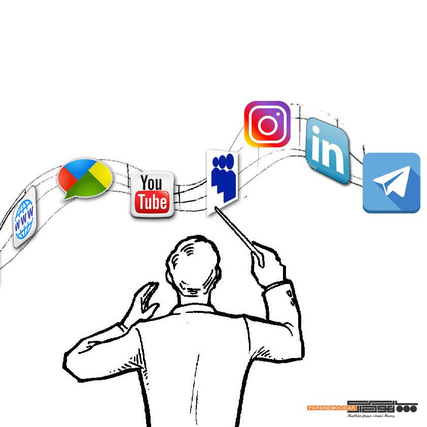 مدیرت اینستاگرام و مدیر شبکه های اجتماعی