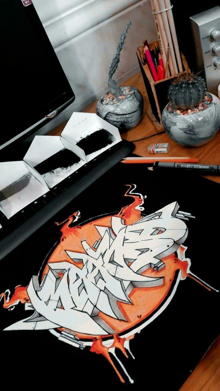 گرافیتی Kaardo
