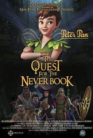 دانلود فیلم Peter Pan: The Quest for the Never Book 2018