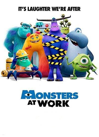 دانلود فیلم Monsters at Work 2021