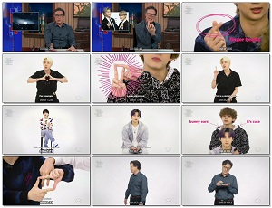 """bts is ready to break the internet with these new hand gestures 317e - BTS """"Butter"""" - The Late Show with Stephen Colbert"""