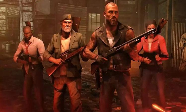 4 Dead survivors