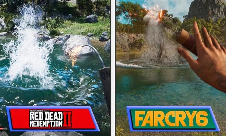 ویدیوی مقایسهی Far Cry 6