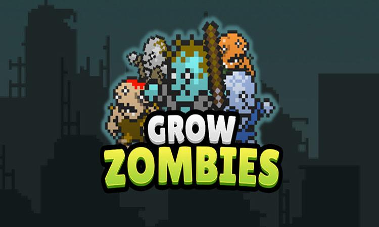 Grow Zombie inc - Merge Zombies