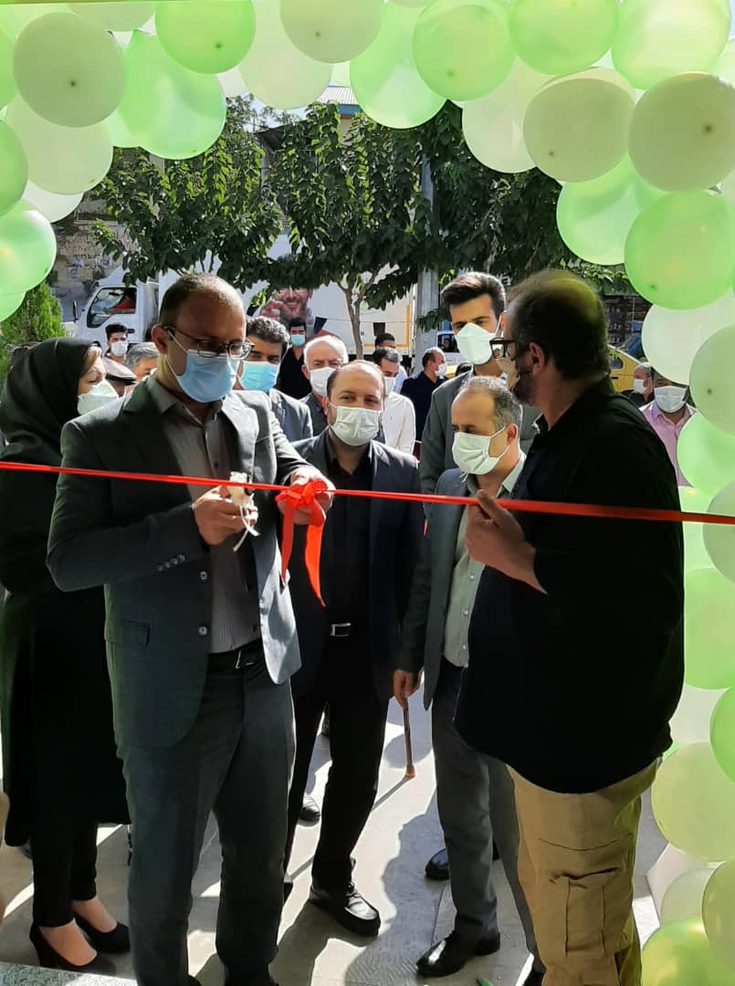 افتتاح باجه پست بانک ایران در روستای مهرآباد رودهن
