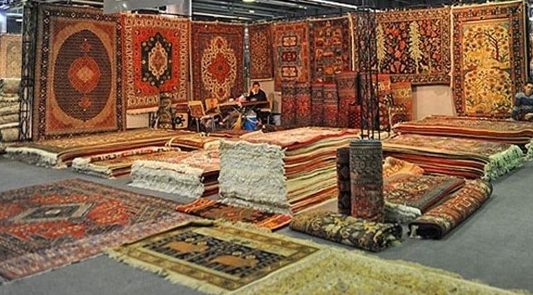 نمایشگاه فرش و تابلو فرش در کرمانشاه برپا شد