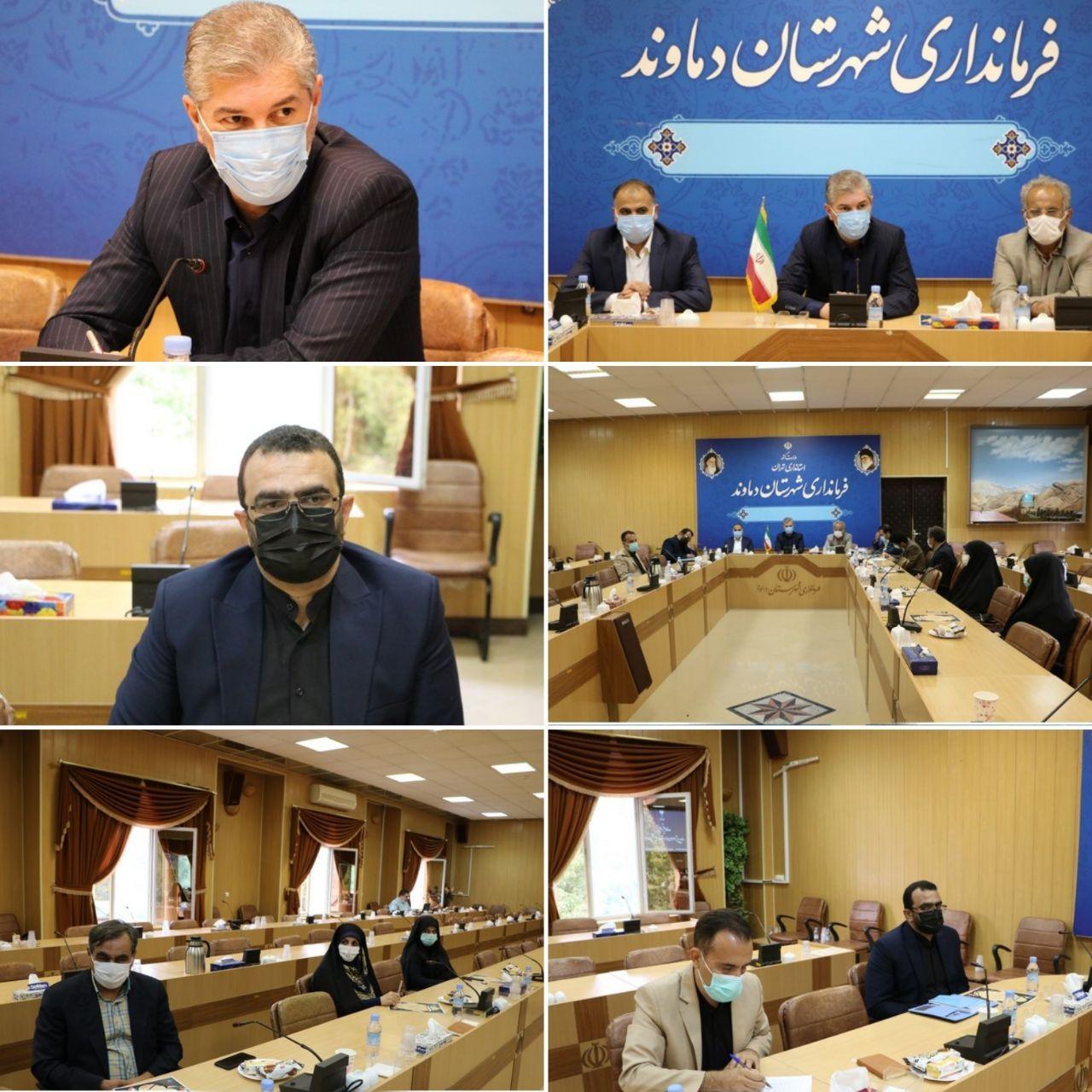 برگزاری آیین تحلیف اعضای ششمین دوره شورای اسلامی شهر دماوند