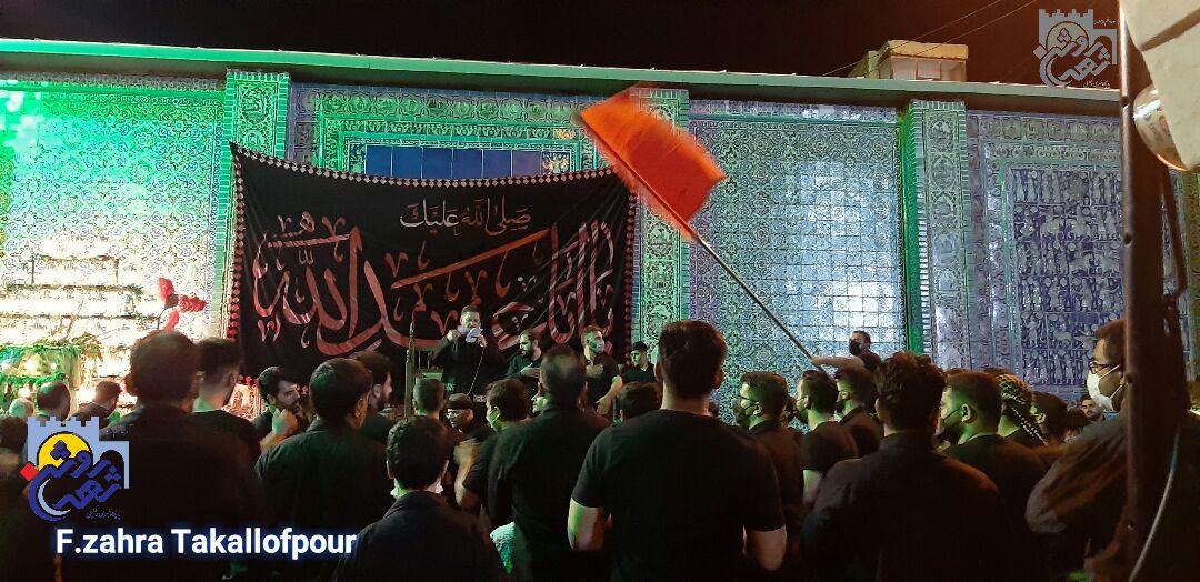 شب ۶ محرم در تکیه معاون الملک کرمانشاه به روایت تصویر
