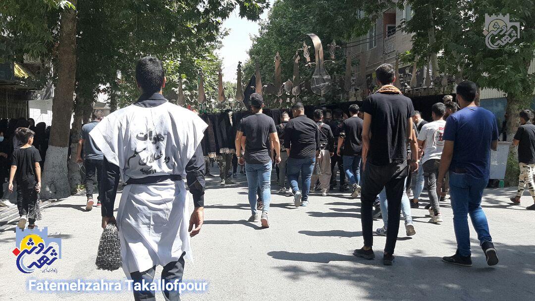 برگزاری عاشورای حسینی در دروازه نجف کرمانشاه+فیلم