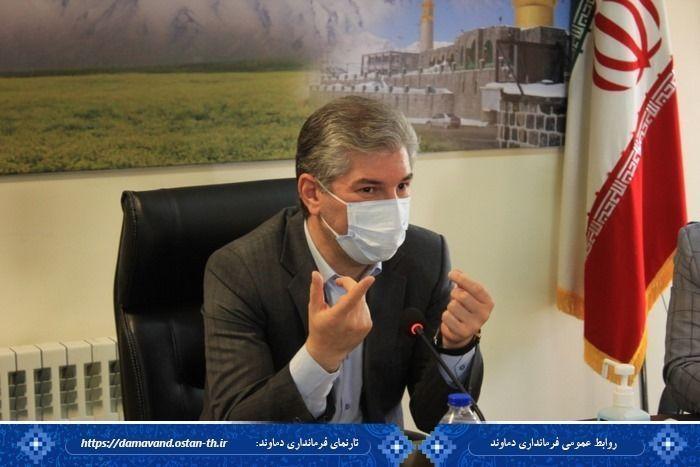  دماوند به لحاظ مدیریت کرونا عملکرد مطلوبی در استان تهران دارد