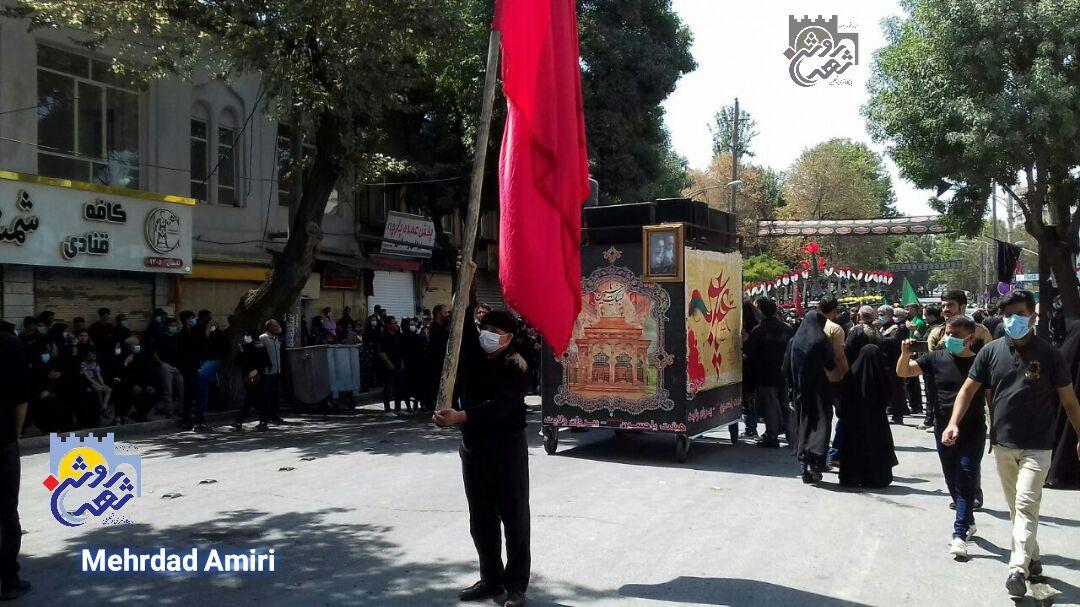 عاشورای حسینی در کرمانشاه برگزار شد+فیلم
