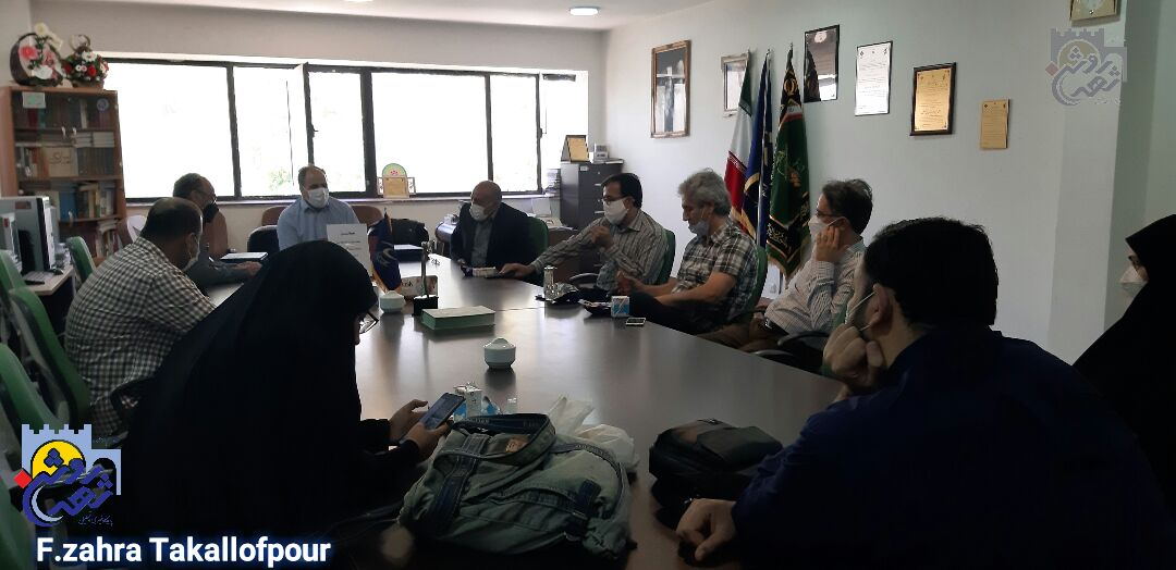 جلسه هیأت اندیشهورز بسیج هنرمندان کرمانشاه برگزار شد