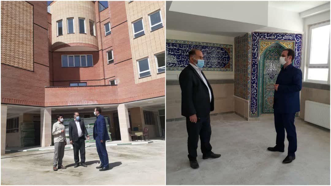 مدرسه جدید التأسیس مرحوم خلیقی در شهرک فرهنگیان مهرماه افتتاح میشود