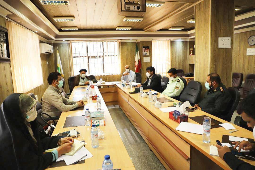 جلسه هماهنگی برگزاری گرامیداشت هفته دفاع مقدس شهر آبسرد برگزار گردید.