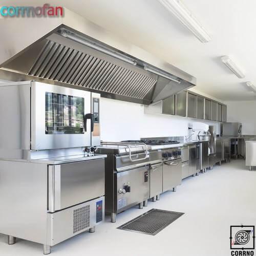 سیستم تهویه اشپزخانه- کارنوفن