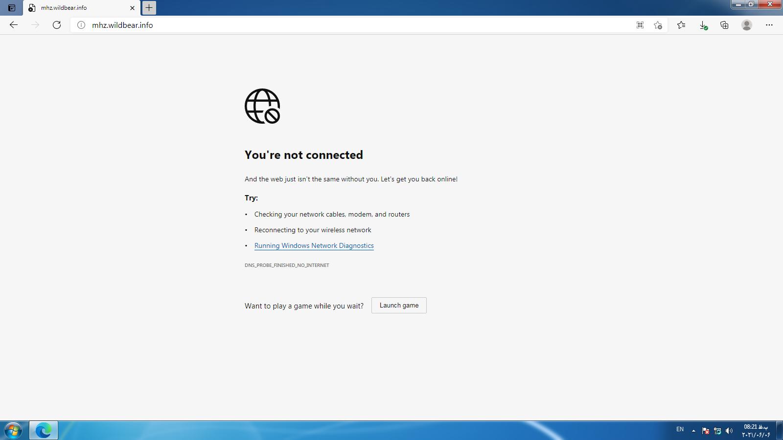 3 علت وصل نشدن اینترنت در ویندوز+راه حل