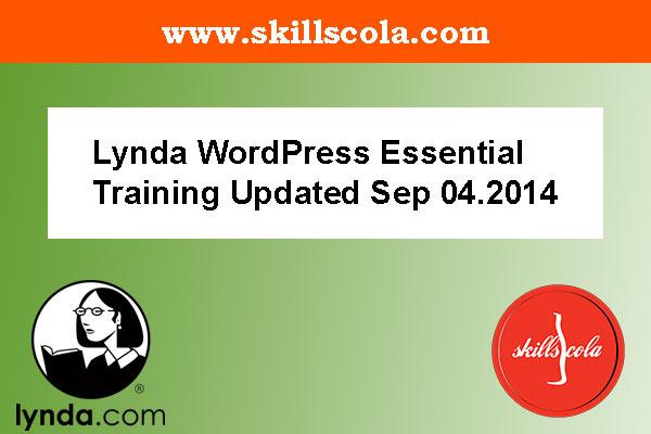 Lynda WordPress Essential Training