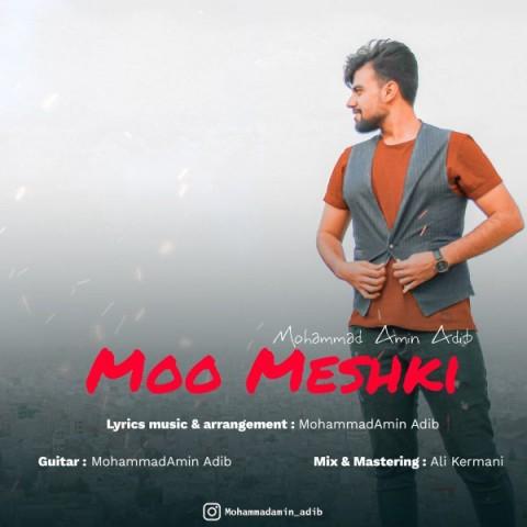 دانلود آهنگ محمد امین ادیب به نام مو مشکی