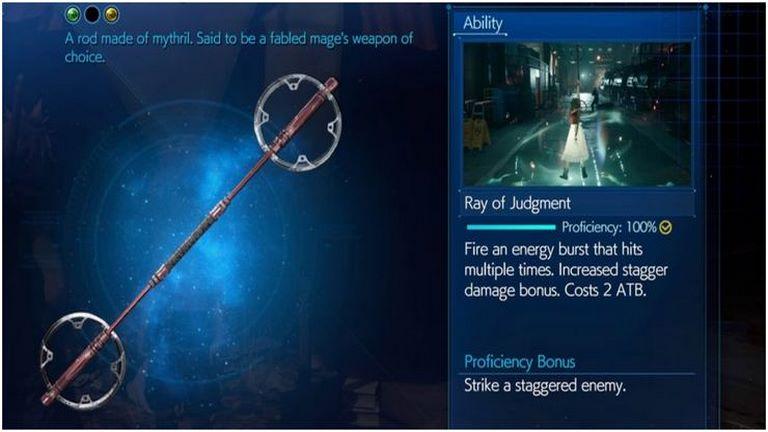 سلاحهای بی جان و جاودان؛ 16 سلاح برتر Final Fantasy 7 Remake