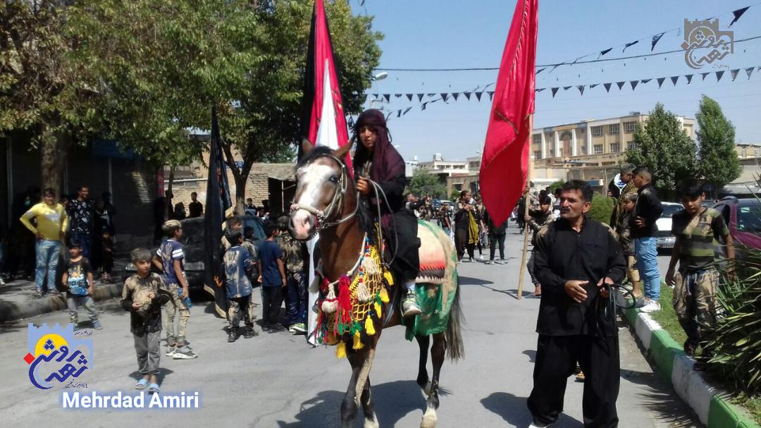 عاشورای حسینی در دروازه نجف کرمانشاه به روایت تصویر