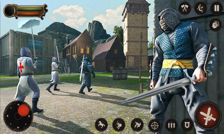 دانلود بازی اندروید Ninja Assassin Shadow Master