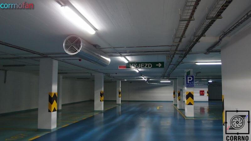 تهویه پارکینگ-سیستم های تهویه کارنو