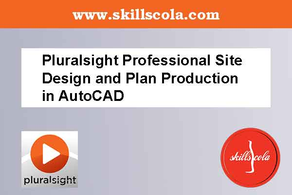 Pluralsight Professional Site Design and Plan Production in AutoCAD