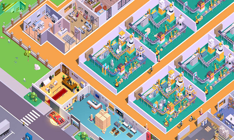 Super Factory-Tycoon
